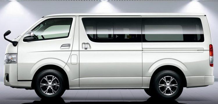 Toyota Hiace (Тойота Хайс) Микроавтобус