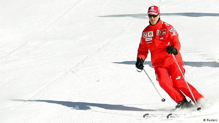 Michael Schumacher Ski-Unfall