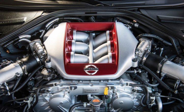 Двигатель Ниссан ГТР 2016-2017 года выпуска
