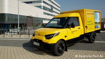 Коммерческий автомобиль StreetScooter немецкой почты