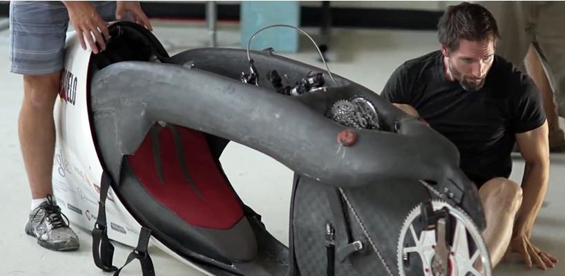 Аэродинамический велосипед Aerovelo Eta