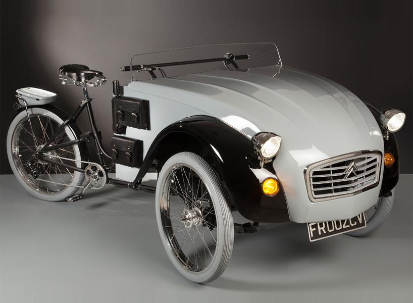 Citroën 2CV Paris: гибрид авто и велосипеда