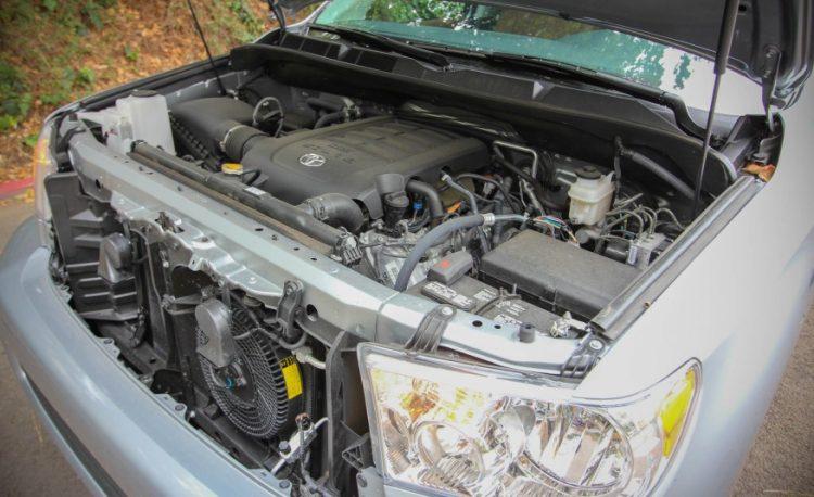 Двигатель Тойота Секвойя