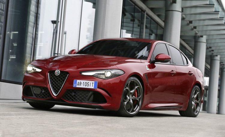 Alfa Romeo Giulia Quadrifoglio 2017 года