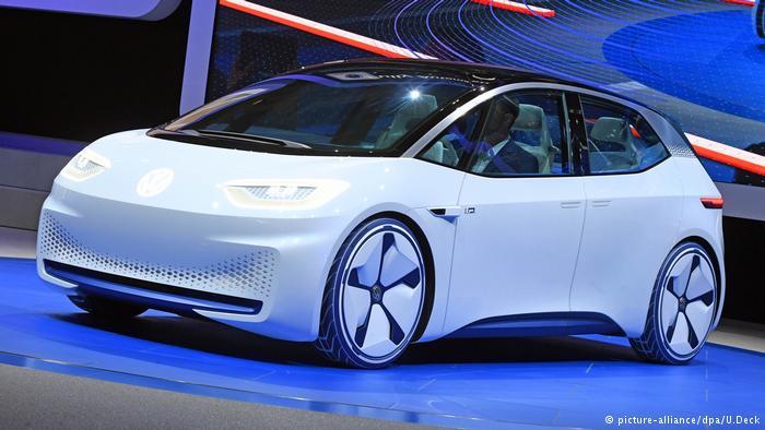 Volkswagen, новая платформа для автомобилей с электромотором I.D.