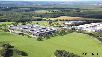 Первая очередь завода Daimler по производству литий-ионных батарей