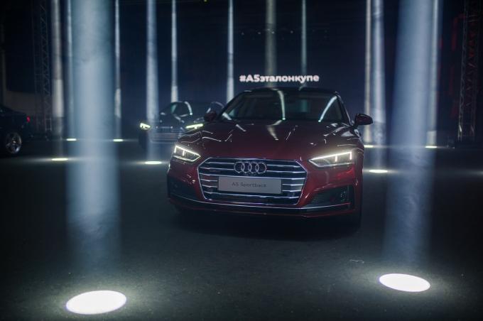 Российская премьера новых Audi A5 и S5 Coupé