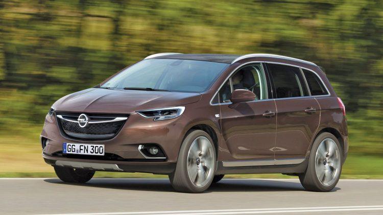 Opel Meriva 2017 года в новом кузове
