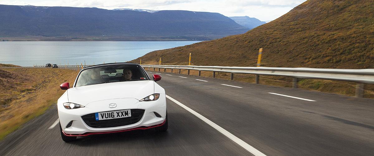 По Исландии на Mazda МX-5