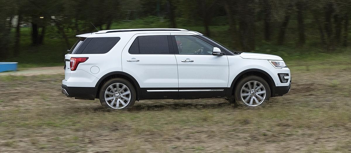 Тест-драйв Ford Explorer: Teddy Bear