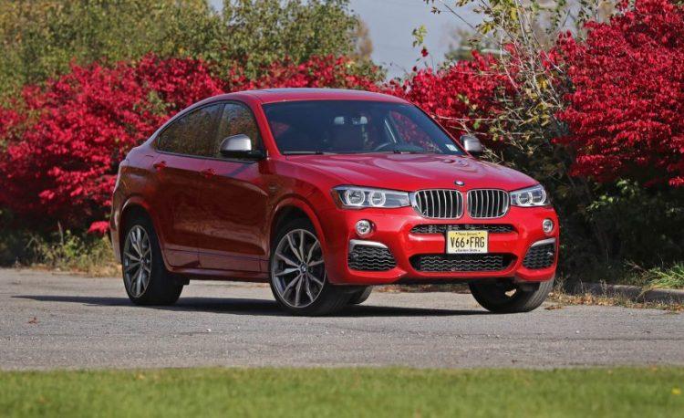 Новая модель кросс-купе BMW X4 2016-2017 года, комплектации и цены, фото