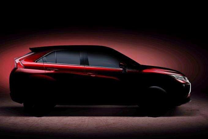 Новый кроссовер Mitsubishi появится в России в начале 2018 года