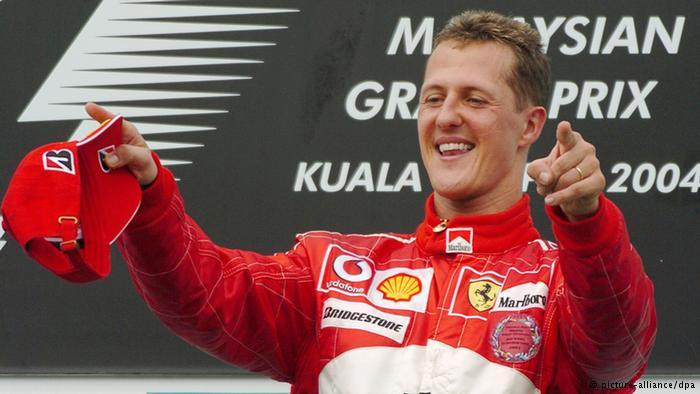 Michael Schumacher Kuala Lumpur 2004