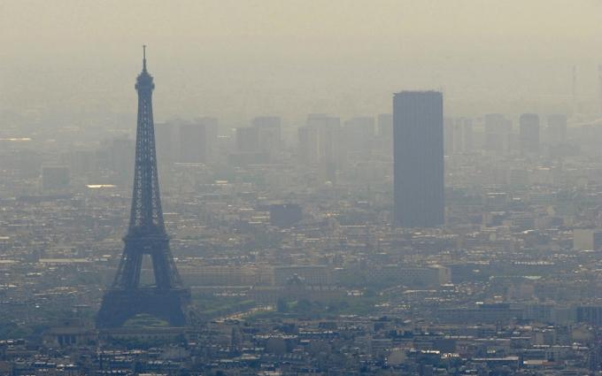 8% автомобилей Франции не смогут въехать в Париж!