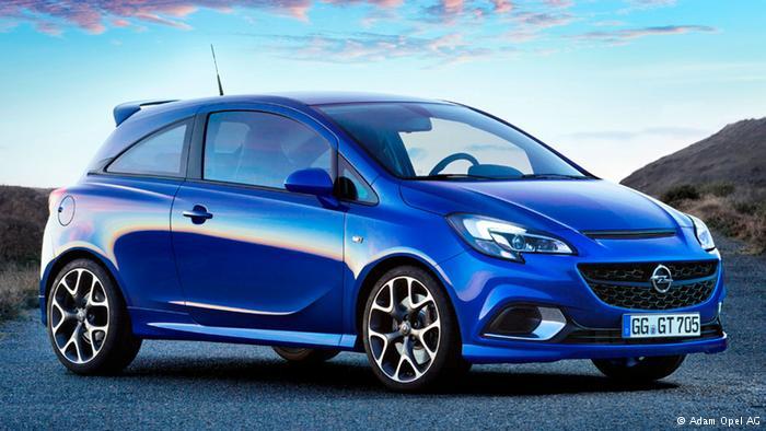Модель Opel Corsa