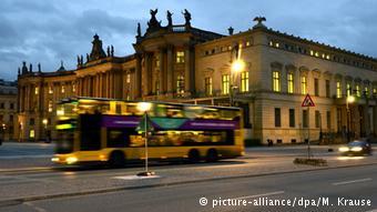 Автобус в центре Берлина