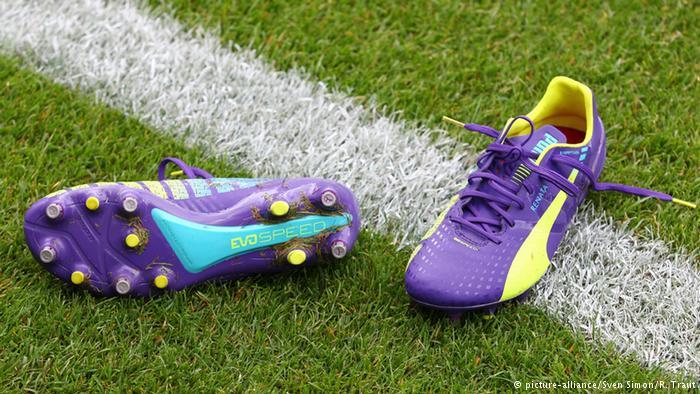 Футбольные бутсы Puma
