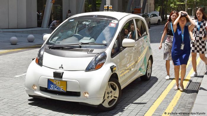 Самоуправляемое такси в Сингапуре