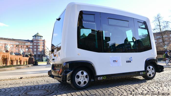 Самоуправляемый автобус в Мангейме
